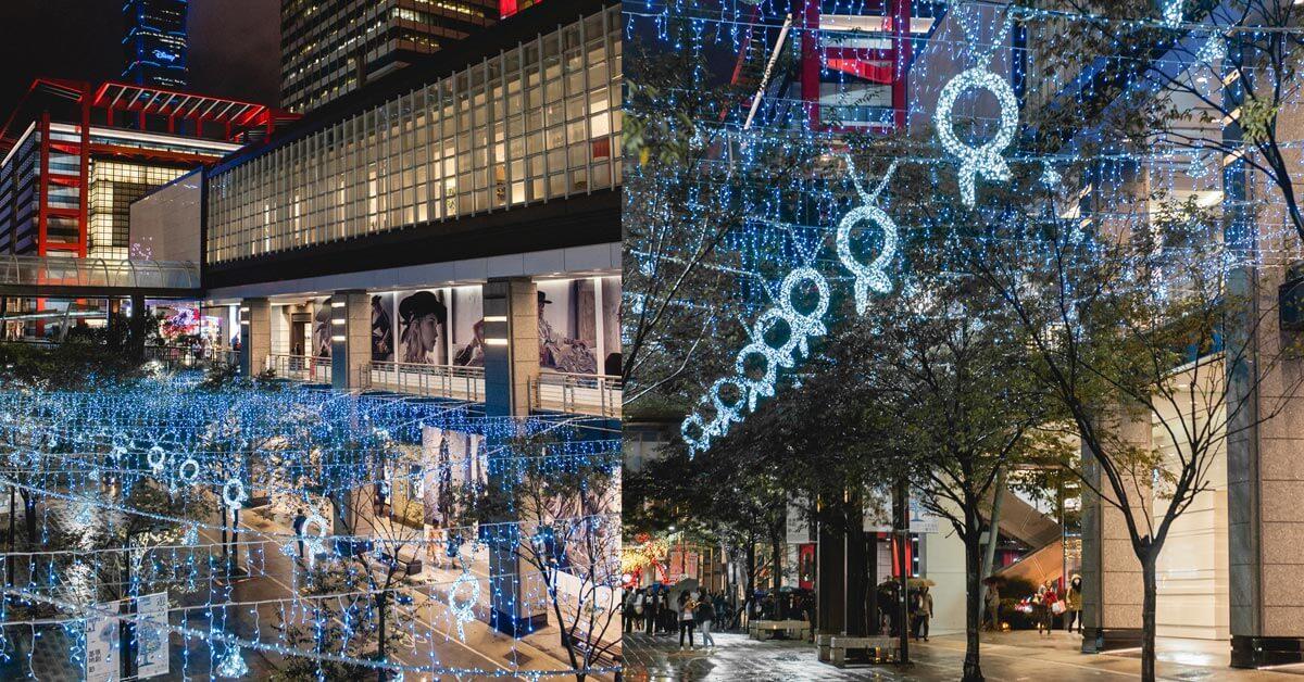 耶誕打卡好去處!寶格麗藝術耶誕燈飾點亮信義街頭!