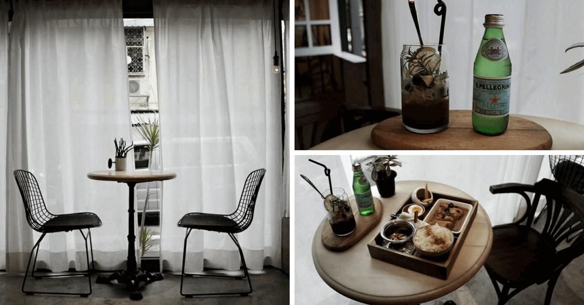 落地窗與白色窗簾好舒服!咖啡廳「Jetlag時差」 杞子蒸雞腿、香港湯麵與大理石Bagel在IG上引爆熱潮