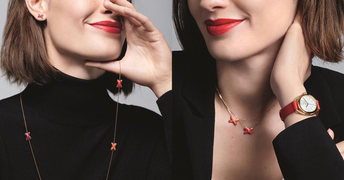 愛情是什麼顏色?法國皇室珠寶CHAUMET限定系列「EUX DE LIENS」告訴妳!