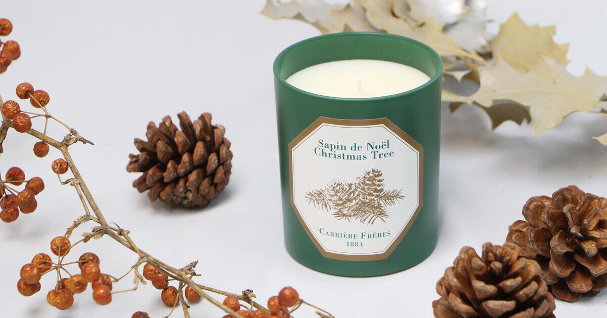 愜意舒心,一款聞得到「聖誕樹味道」的香氛蠟燭!