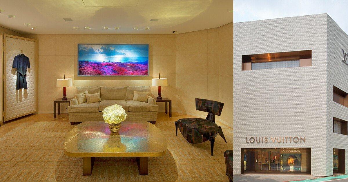 是家也是美術館,5大亮點看LV Building中山旗艦店,讓妳逛街逛出一身品味!