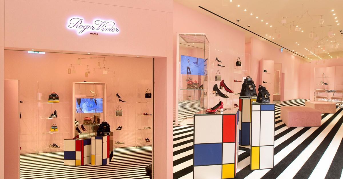 巴不得讓人生活在滿是ROGER VIVIER鞋包的夢幻粉紅屋,僅在SOGO BR4復興館限定開幕!