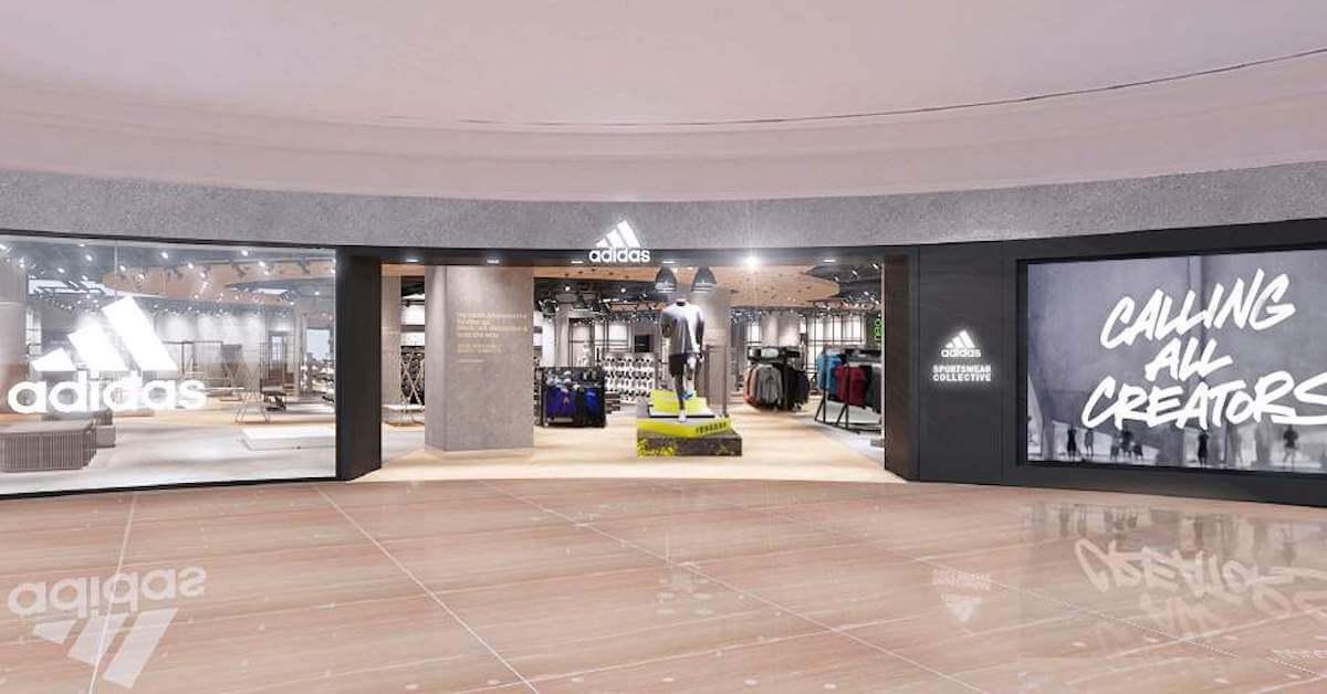 機能到時尚,adidas 於台北 101 開設上百坪運動潮流廣場