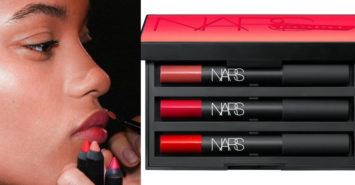 還在猶豫不決?NARS幫你一次打包暢銷色!絲絨迷霧唇筆推出自戀紅唇唇彩盤啦!