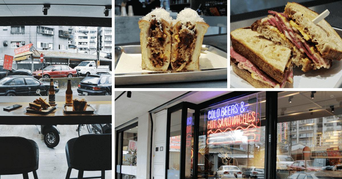 三明治餡料整個滿出來!金屬系「Liquid Bread Co.」 台北Top10真材實料三明治,搭配沁涼啤酒超過癮!