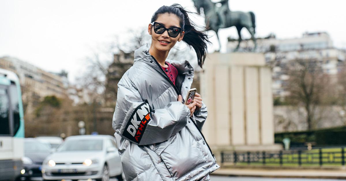 冬天就這件外套最保暖,羽絨外套這樣穿讓你溫暖不顯胖