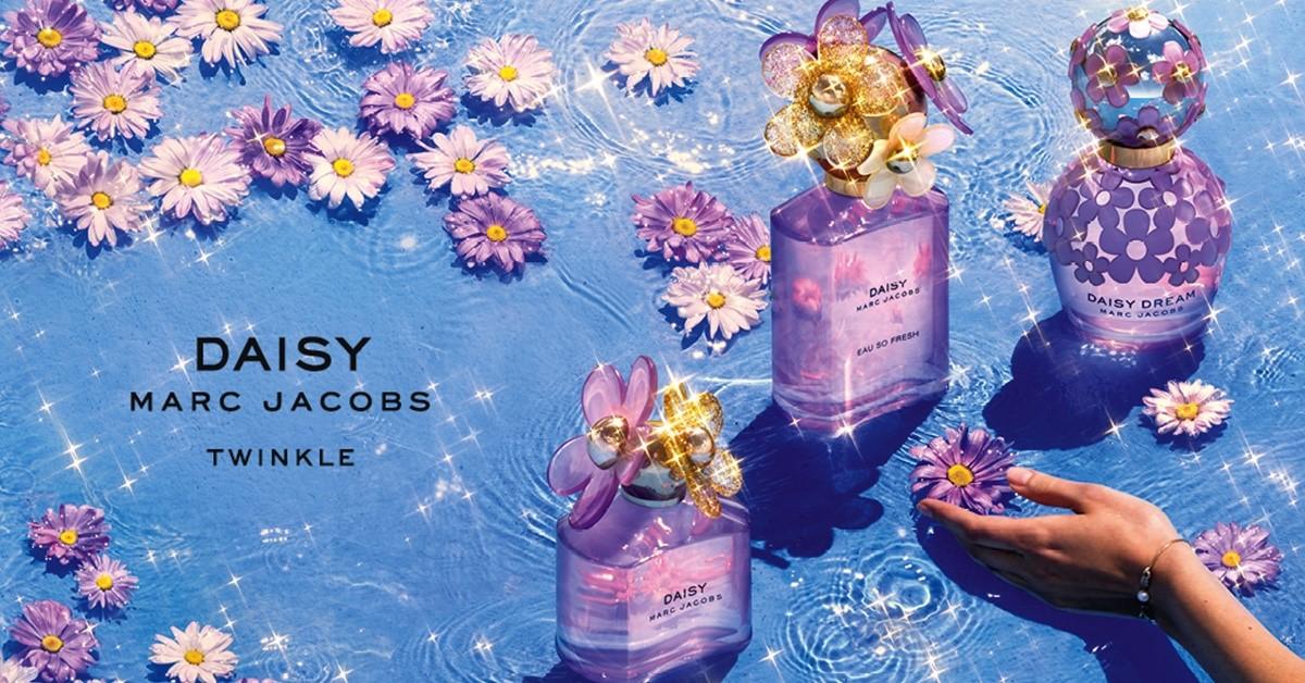 這根本是仙女用的香水!閃爍金粉加上紫外光,小雛菊香氛夢遊精靈限量版美到不像話!