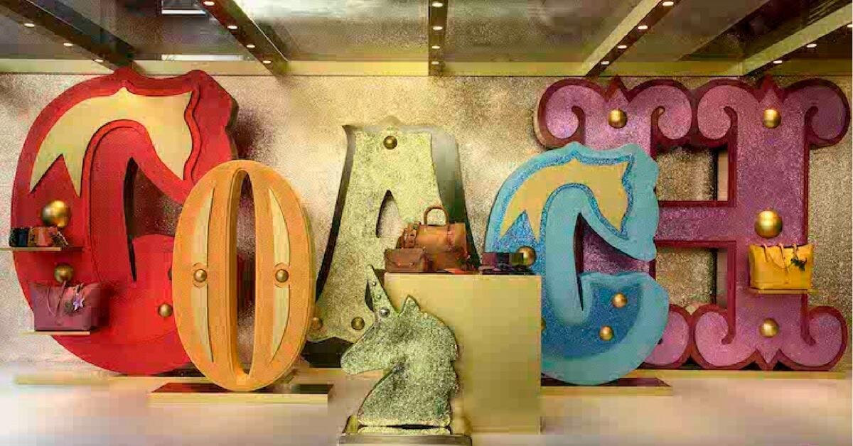 #BringOnTheJoy -  IT Girl Kiwi 李函帶你一覽這次COACH HOLIDAY 系列其間限定店鋪!