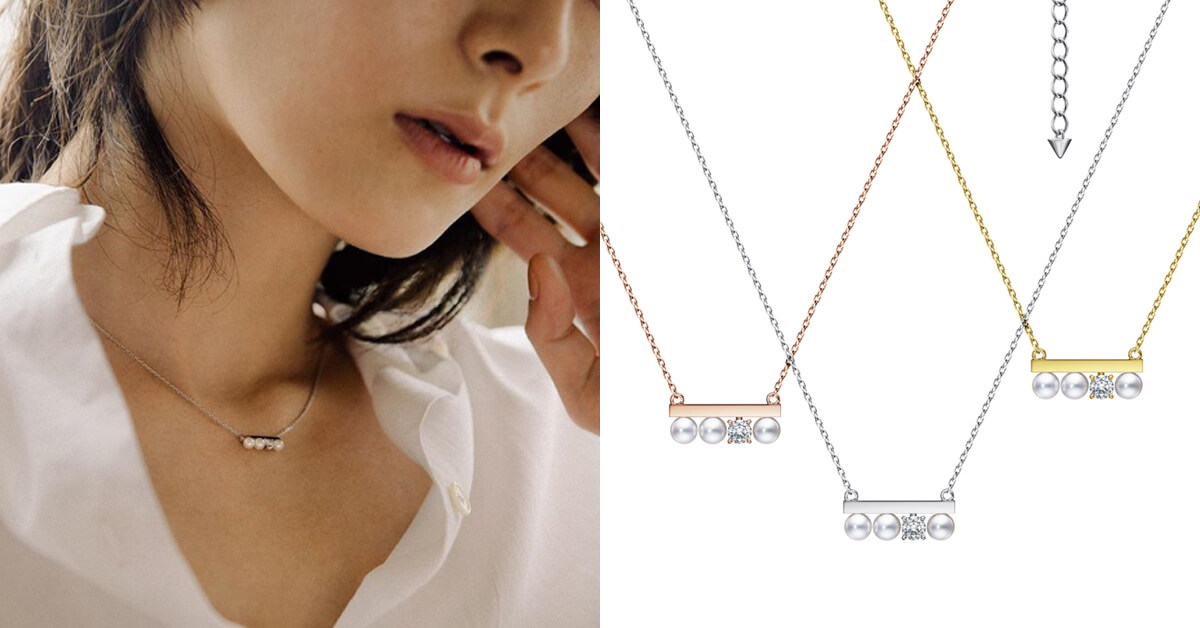 TASAKI珍珠鑽石雙重奏,打動戀人心!