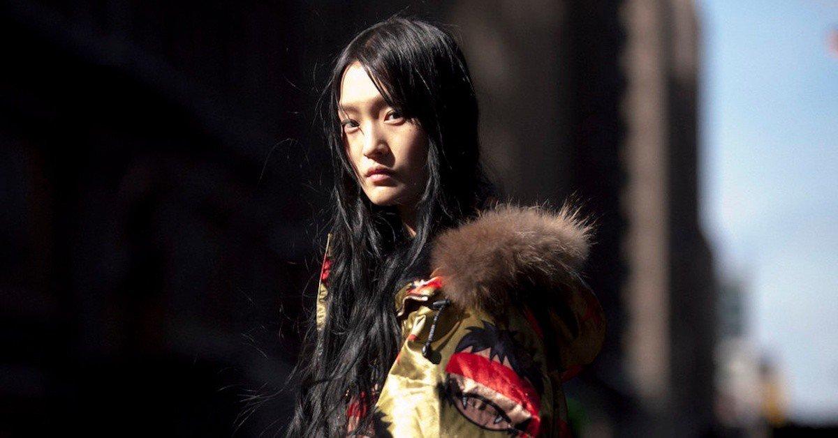 用眼神稱霸時裝周,你不能忽視的亞洲女模-王新宇