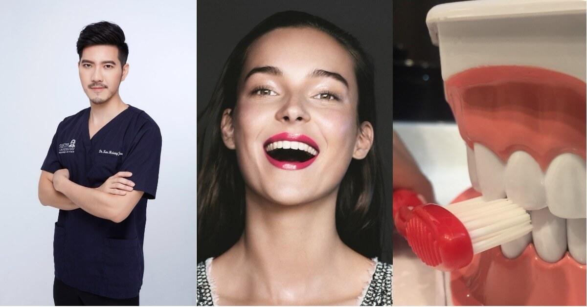 妝畫得美美了,那牙齒呢?型男醫師打破你對牙齒美白迷思,讓你成為一笑傾城的女孩兒!