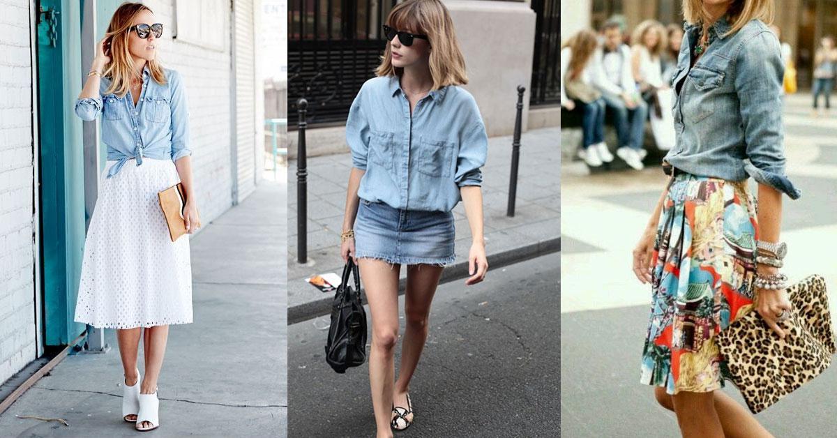 四季都時尚的決勝單品!丹寧襯衫4種穿搭法則