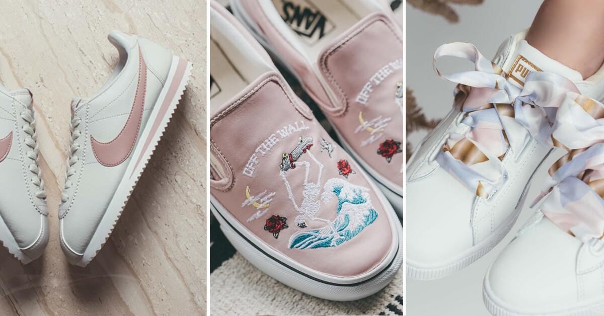 粉白色球鞋秋冬持續進攻!這3雙一定能燒進妳的鞋櫃