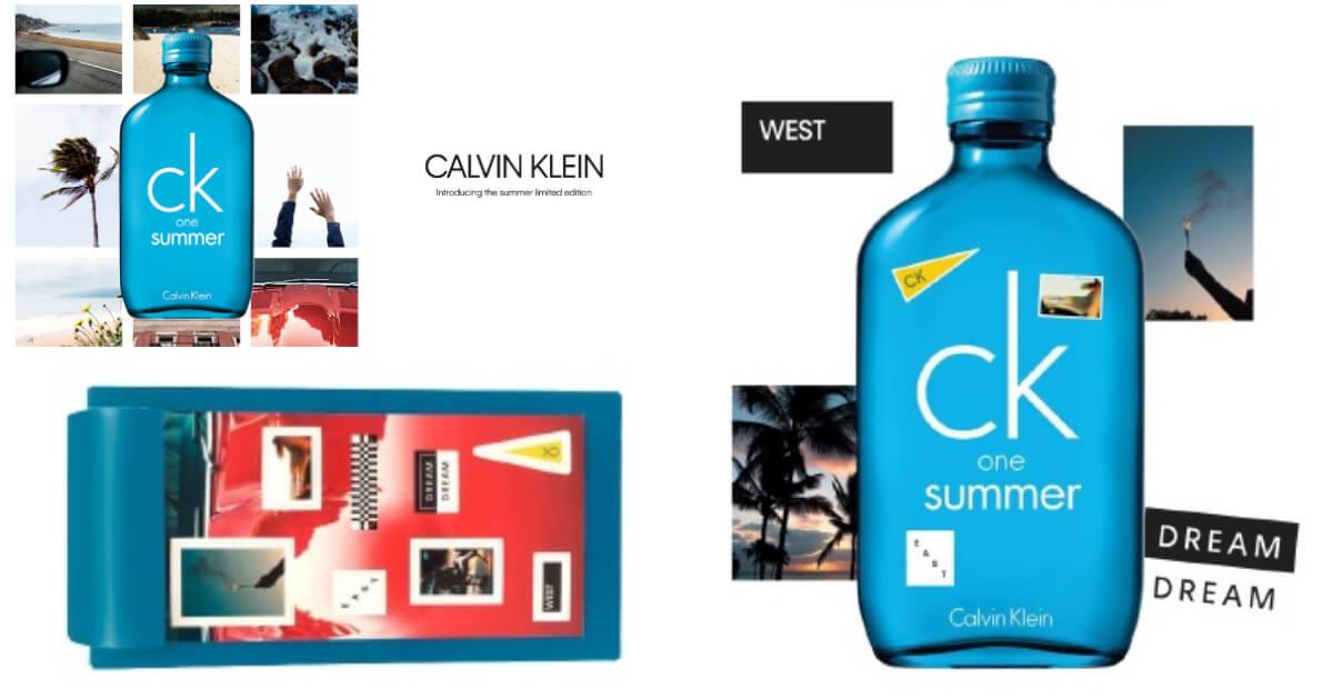 最喜歡貼貼紙了!ck one summer X 美國網紅Connor Franta跨界合作,將夏天美景貼在土耳其藍的瓶身上