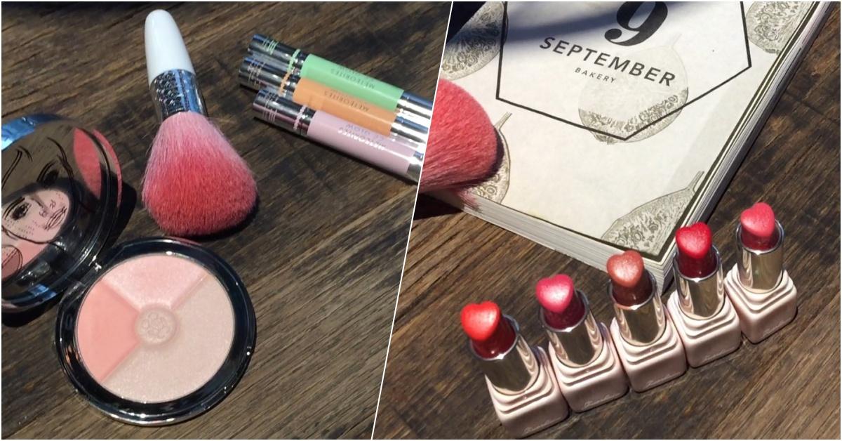 想脫單就靠它,這款愛心型唇膏粉嫩的太夢幻!嬌蘭限量春妝幫你打造戀愛桃花妝