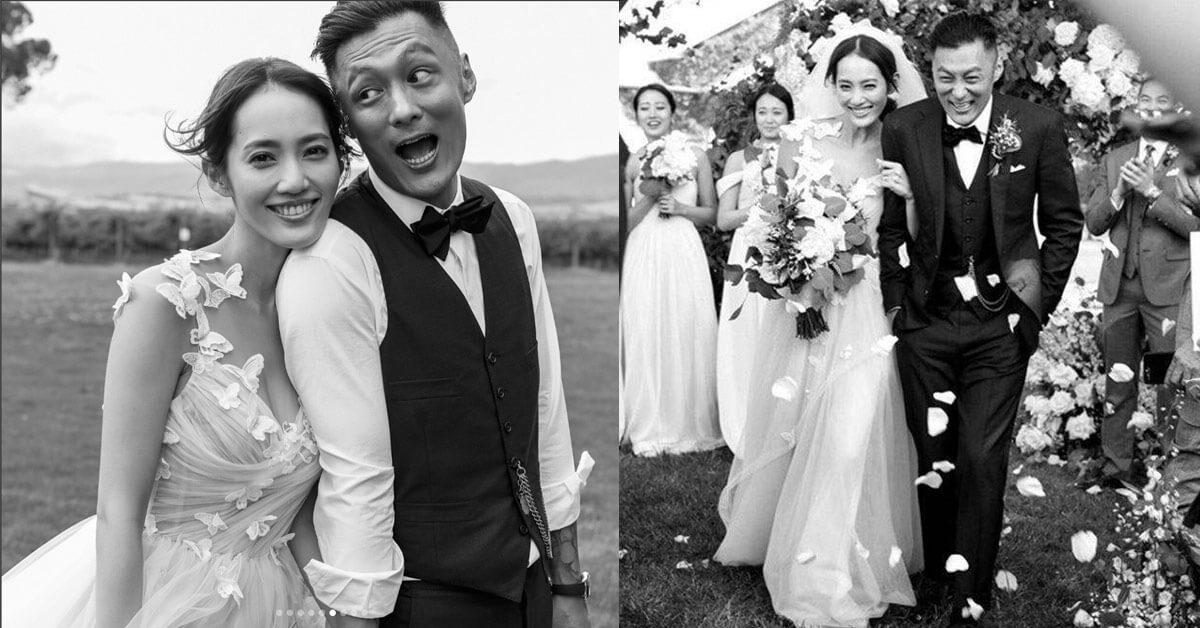 余文樂娶台灣名模甜喊:「我一定會把幸福帶給你,我一定會好好的照顧你I love you」