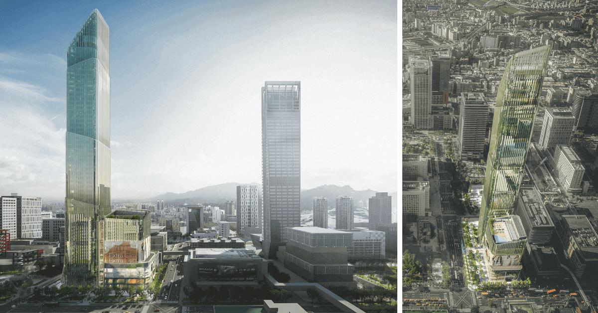 2020年信義Taipei Sky Tower落成!創造300m國際級購物街 「柏悅+安達仕」全球首間雙品牌飯店,台北將煥然一新!