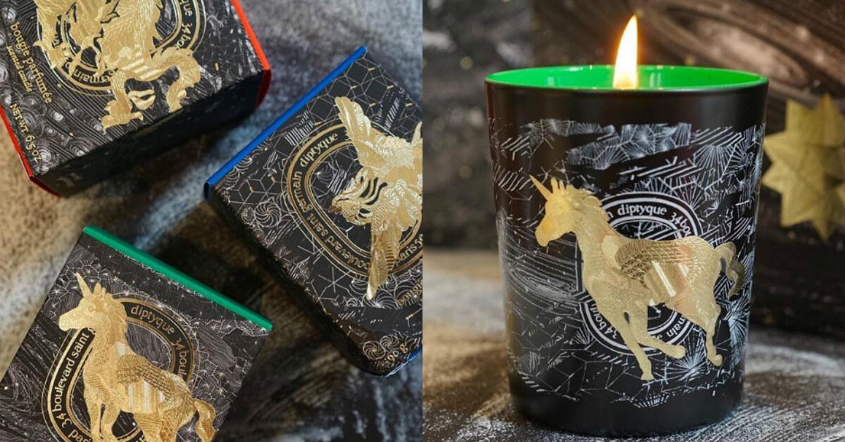 鳳凰、天龍、獨角獸…,每個神話動物都呼應著一款色彩香氛,快跟著diptyque走入奇幻的夢想世界吧!