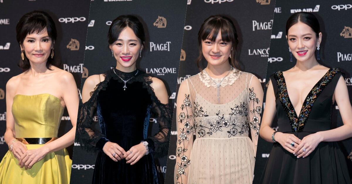從最新女配角文淇到楊千霈、吳可熙,女星們都以超美唇妝稱霸金馬54!