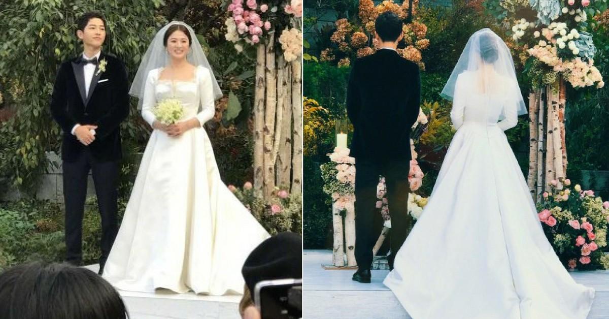 還沒找到妳的命中婚紗?學宋慧喬這樣挑,讓妳在婚禮變女神
