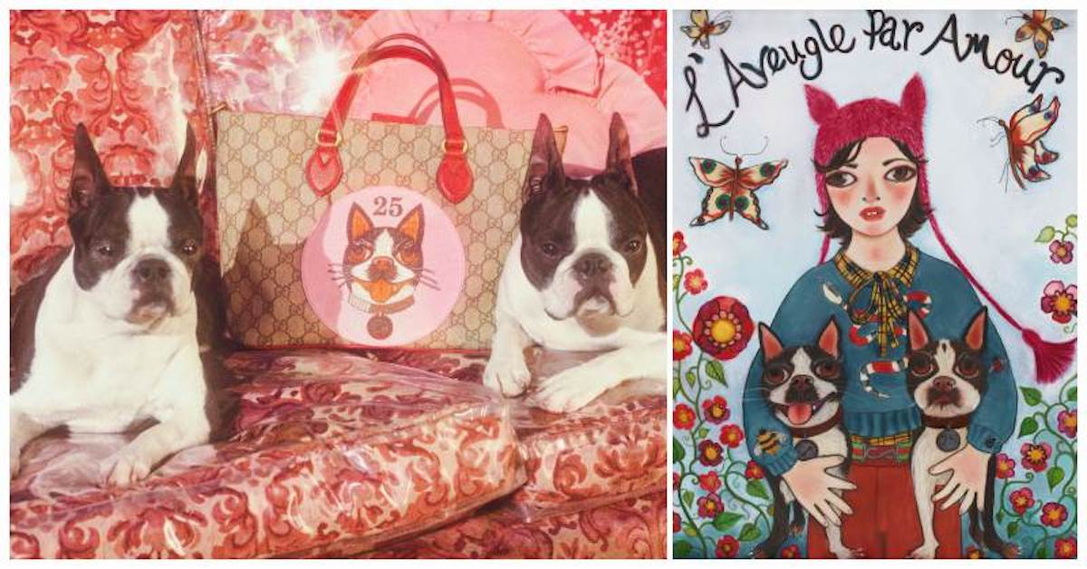 編輯開箱,近覽 Gucci 帶來的狗年祝福!創意總監 Alessandro Michele 將愛犬繡上包袋!