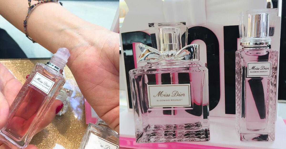 重新演繹Miss Dior 嵌上千鳥格紋更有個性,推出滾珠隨身瓶,隨時展現浪漫女人味