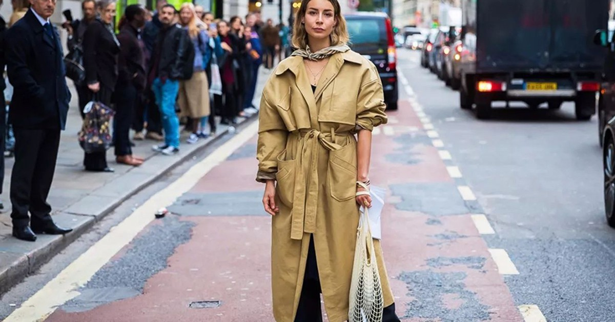 今年秋冬最時尚的組合,5種一定要學會的長外套與寬褲搭配