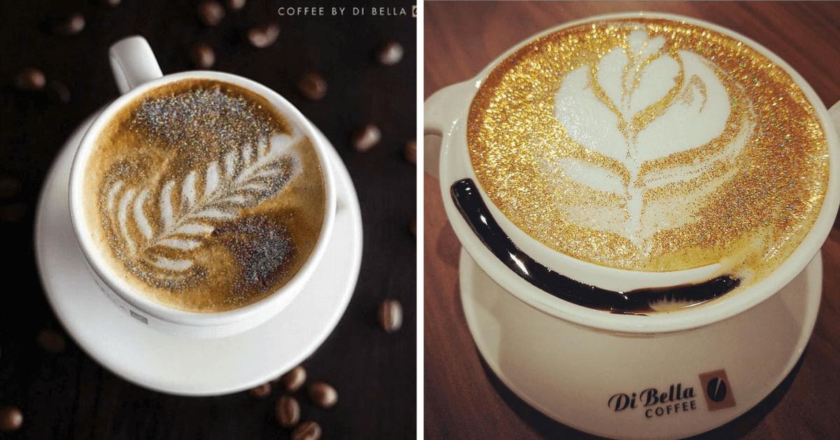 「框金又包銀」的卡布奇諾,妳想喝嗎? 印度知名咖啡連鎖閃亮奶泡,席捲潮人Instagram!