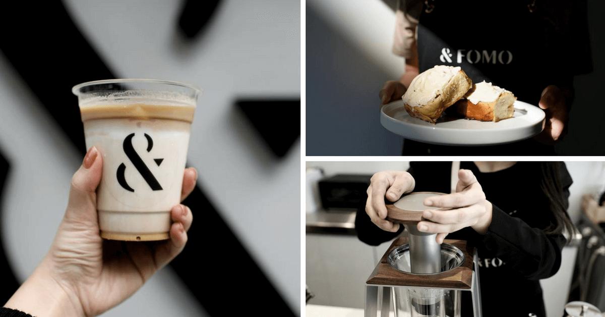 滿滿糖霜滴出來!早餐就是要來吃這個肉桂捲 台北外帶咖啡「FOMO COFFEE」開幕,洗鍊風格怎麼拍都美!