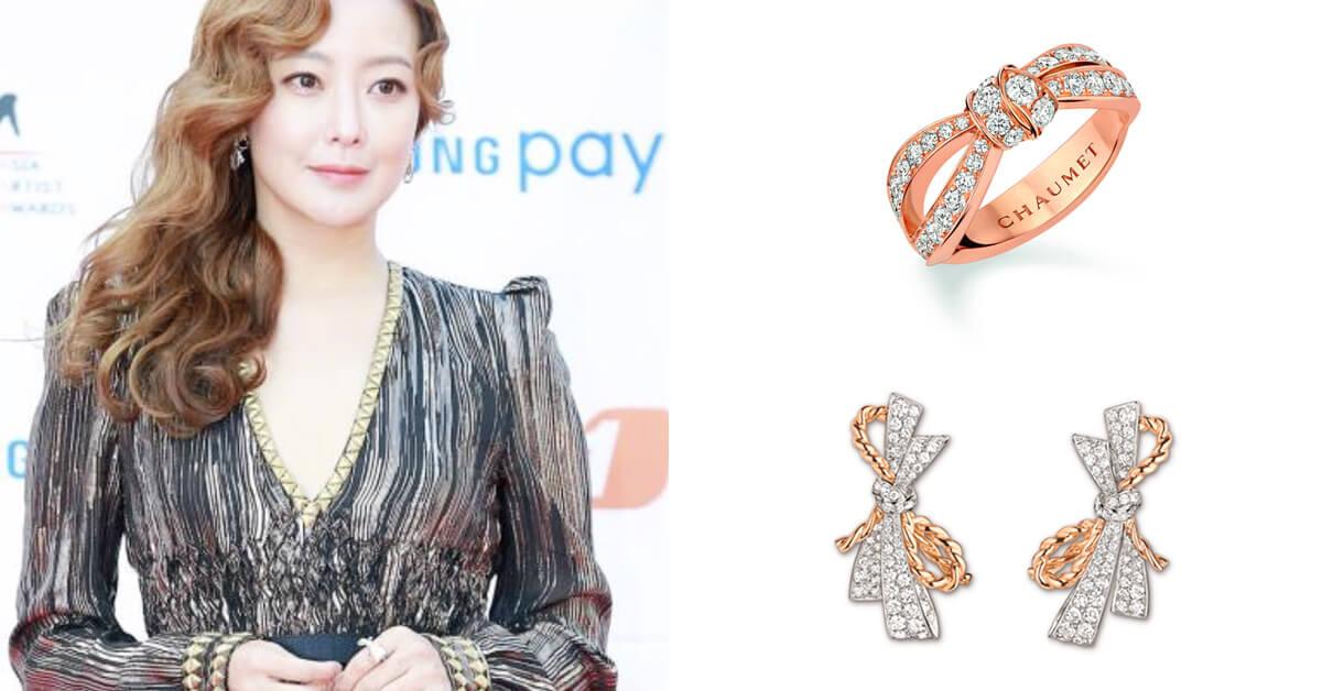 CHAUMET珠寶幸運加持!人氣女星金喜善榮獲韓國 《2017 AAA 亞洲明星盛典》演員大獎!