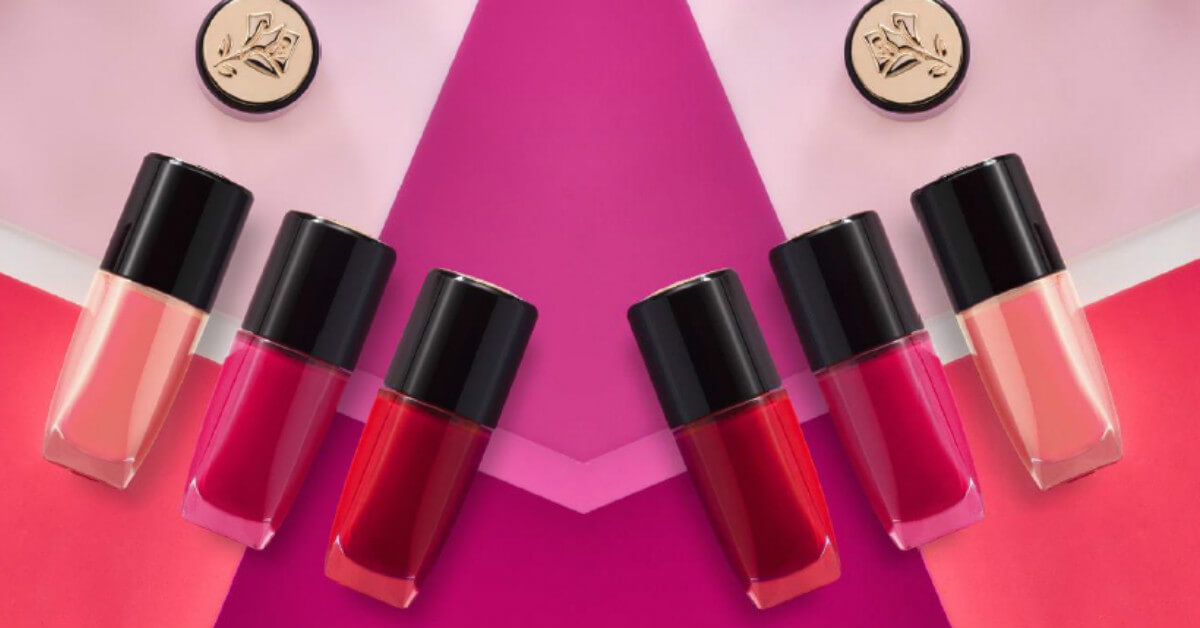 還對挑指甲油沒想法?Lancome最新提案:將熱賣唇色化為指尖絕美的9個色彩