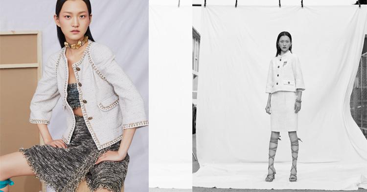 16歲的王新宇,登上當時極少採用亞洲Model 的Calvin Klein時裝秀