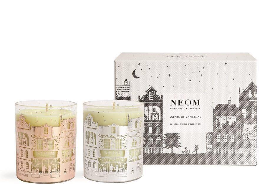NEOM聖誕香氛蠟燭禮盒