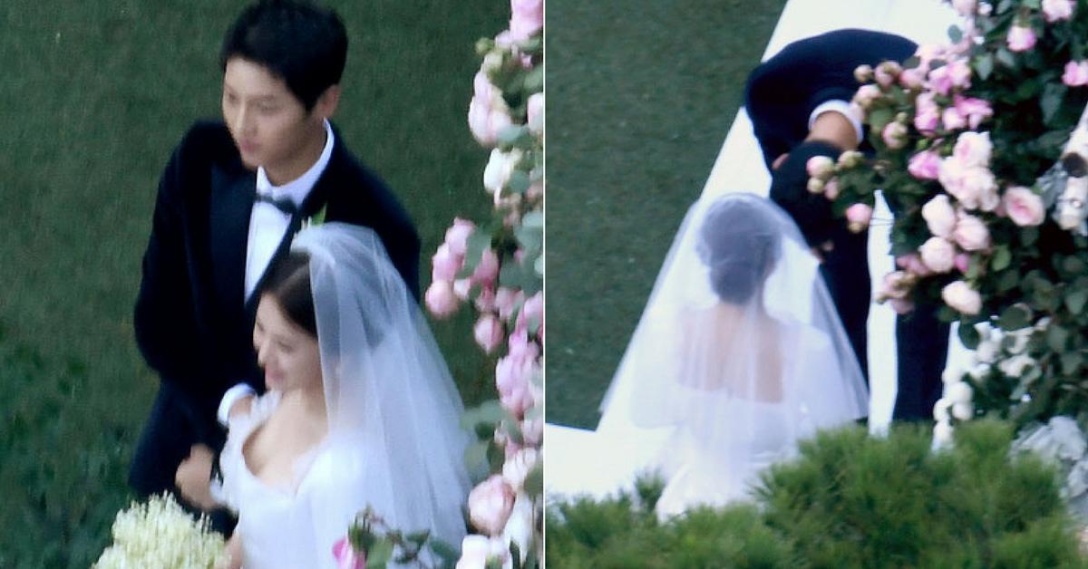宋仲基宋慧喬世紀婚禮