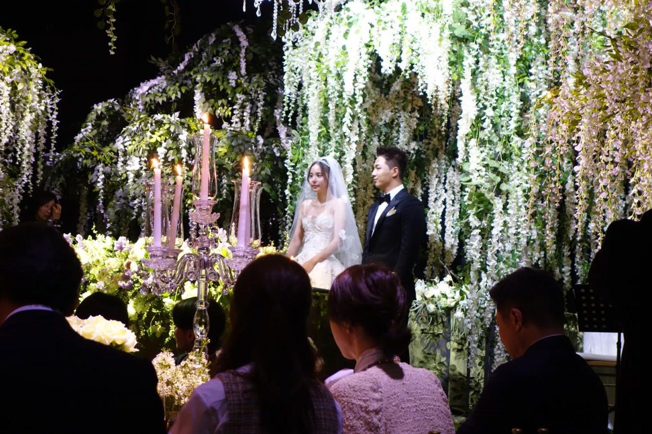 太陽閔孝琳婚禮