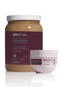 SPARITUAL天竺葵紅糖去角質霜228ml,1600元