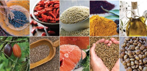 超級食物追求攝取高營養價值的食材