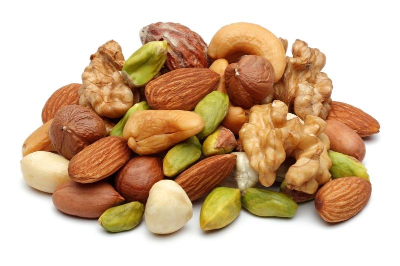堅果類食物能提供人們所需的營養