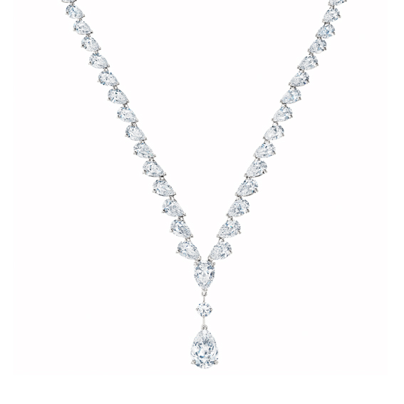 Drops of Light系列,高級珠寶鑽石項鍊,14,200,000元。