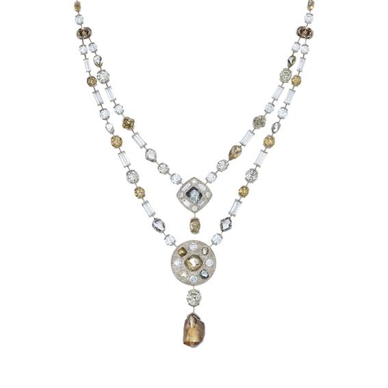 Talisman系列,高級珠寶鑽石項鍊,12,550,000元。