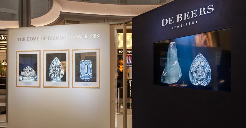 珠寶品牌De Beers全球巡迴特展「The Home of  Diamonds Since 1888」,台灣首站。