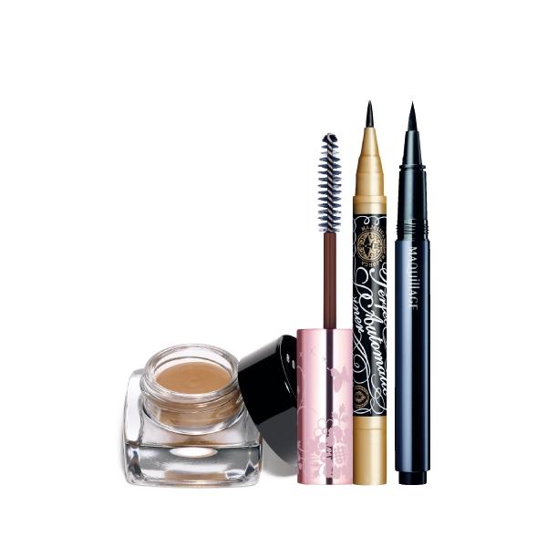 眼影膏、防水眼線筆打底,巧妙影響持妝效果