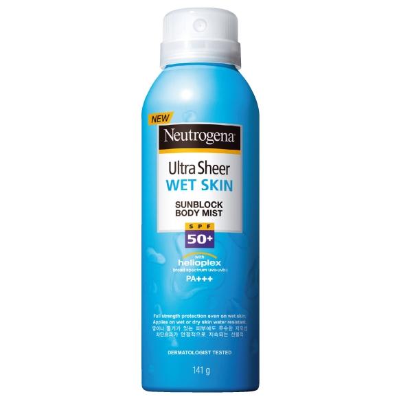 Neutrogena水肌因濕膚防曬噴霧SPF50/PA+++,141g,499元。