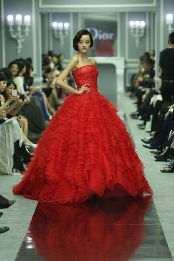 Dior 2012春夏高級訂製服上海秀場