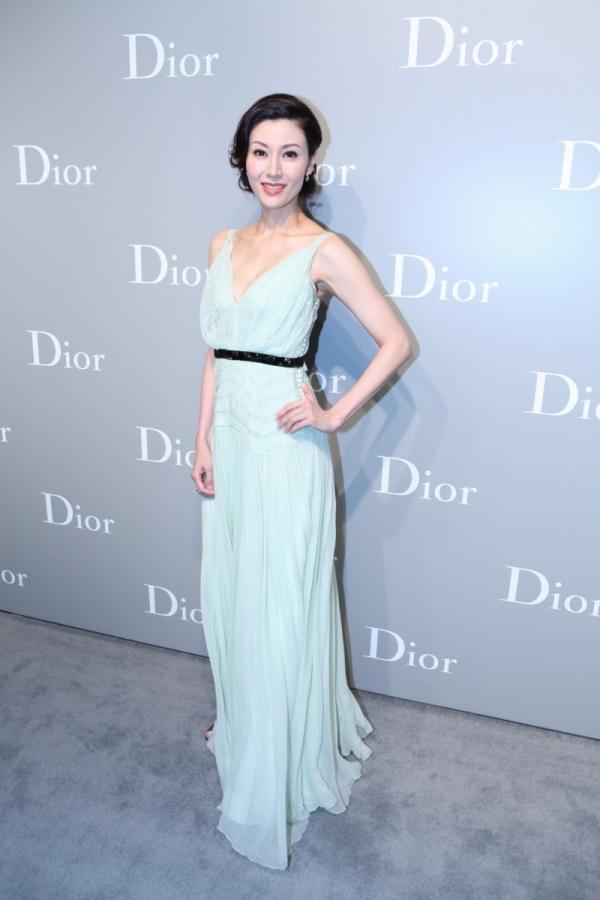 香港女星李嘉欣於 Dior 2012春夏高級訂製服上海秀場