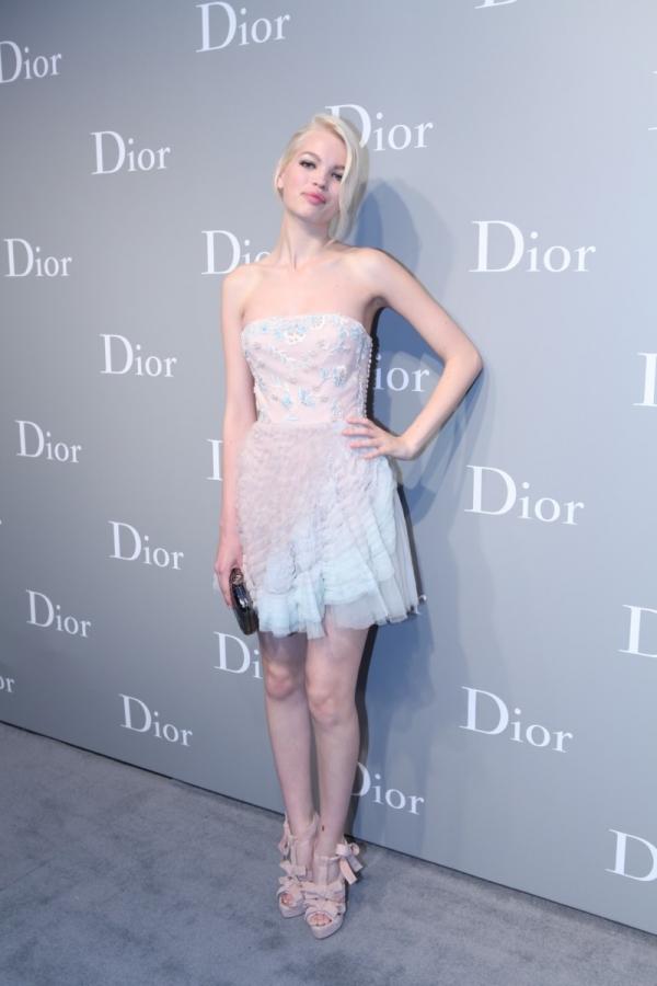 Daphne Groeneveld 於 Dior 2012春夏高級訂製服上海秀場