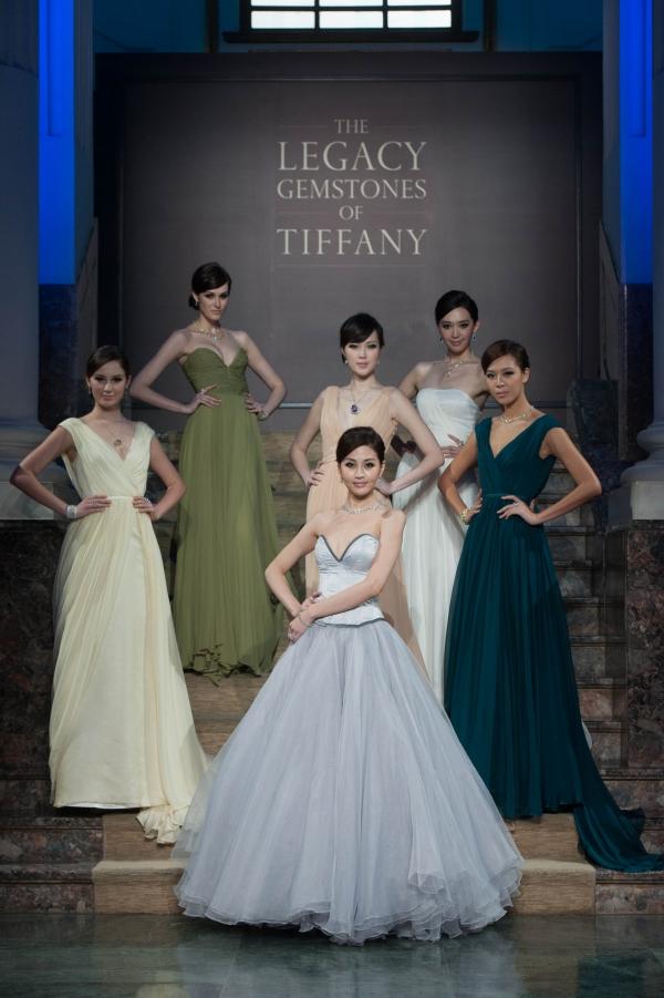 名模演繹 Tiffany 175周年全新瑰麗珠寶