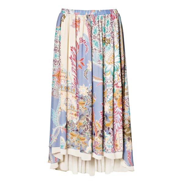 Sisley絲質印花長裙,5,680元。