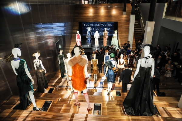 Catherine Martin 與Miuccia Prada電影大亨小傳服裝特展