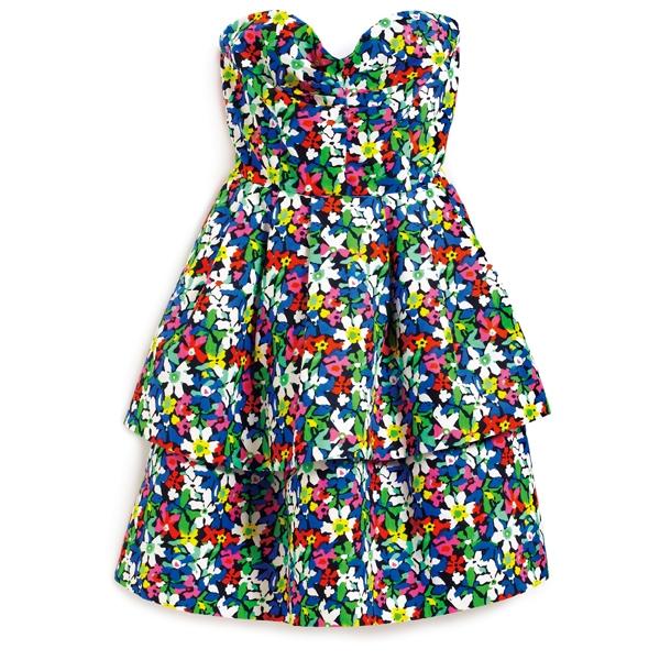 Kate Spade 彩色印花短洋裝, 價格電洽。